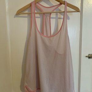 Lululemon 105 degree singlet in blush pink